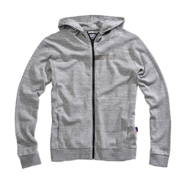 Motorrad Jugend Pullover Hoody - Grau