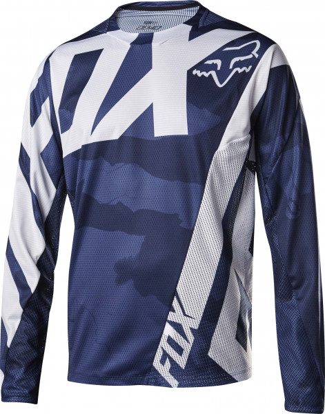 Demo LS DH Jersey - Creo Blue Camo