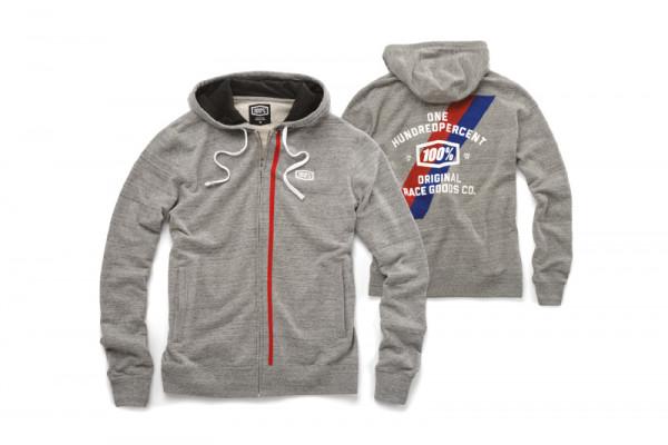 Drew Full-Zip Hoody - Grey