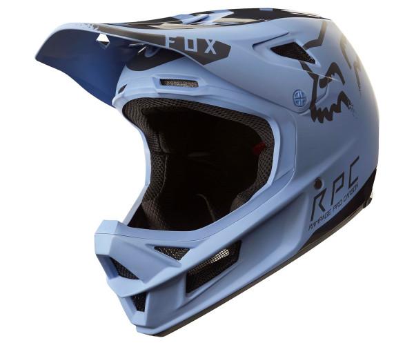 Rampage Pro Carbon Helm Moth Blue Black