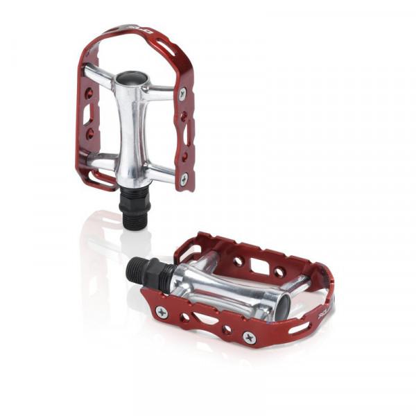 PD-M15 Retro Rennrad Pedal - Rot