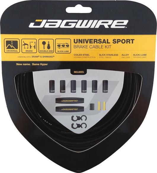 Bremszugset Universal Sport - Schwarz