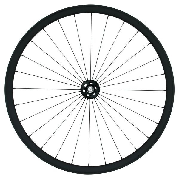 Singlespeed/Fixed Laufradsatz - schwarz matt