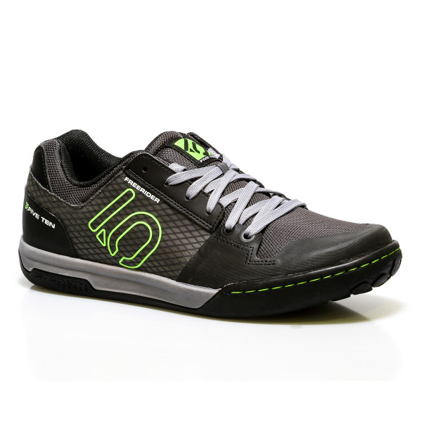 Freerider Contact Bike Schuh Black/Lime Punch