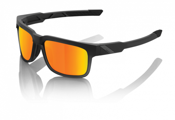 Type S Sonnenbrille - HD Red Multilayer Mirror/Hiper Lense - Soft Tact Black