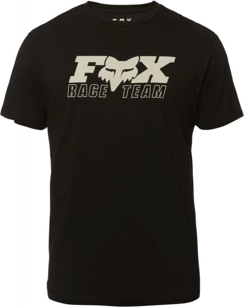 Race Team Premium T-Shirt - Schwarz/Weiß