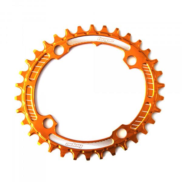 Oval Retainer Kettenblatt - orange