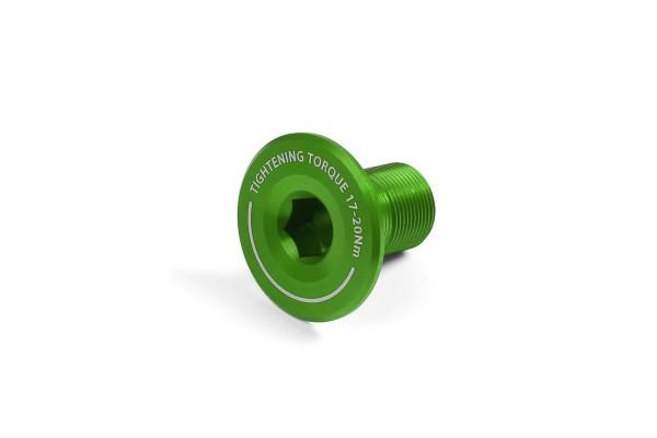 Kurbel-Endschraube - grün