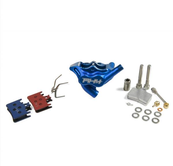 RX4 Bremssattel Flatmount Complete hinten - Sram - Blau