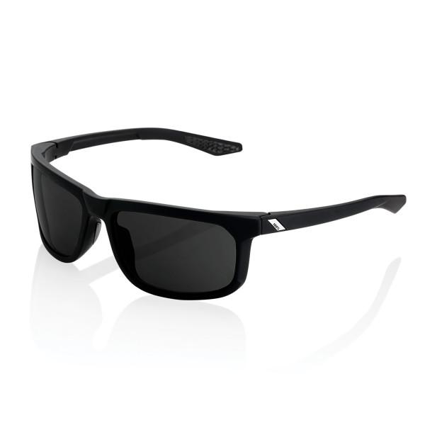 Hakan Peakpolar Brille gespiegelt - Schwarz