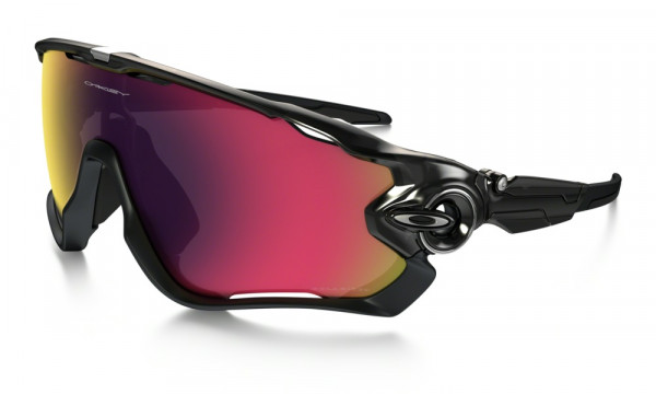 Jawbreaker Sonnenbrille - Black Ink - Red Iridium Polarized