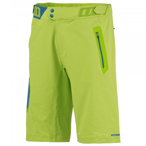 Trail MTN XPAND Shorts Macaw Green/Seaport Blue