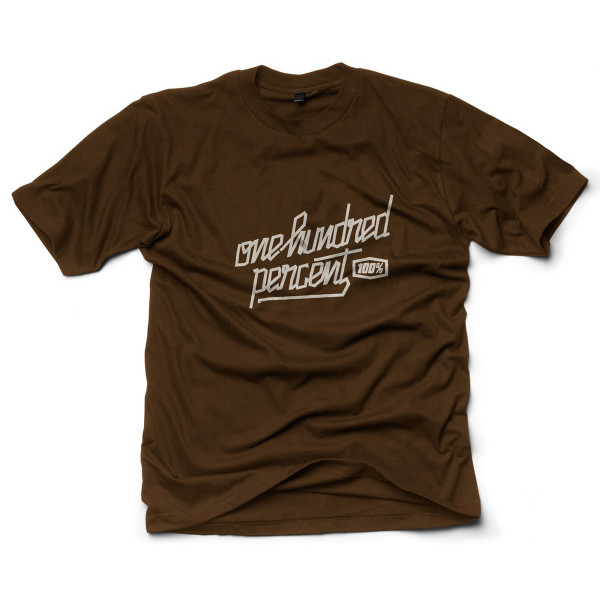 Mask T-Shirt chocolate