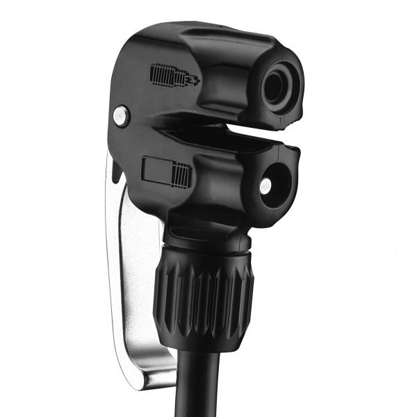 Slip-Fit Dual-Pumpenkopf für Presta und Schrader Ventile