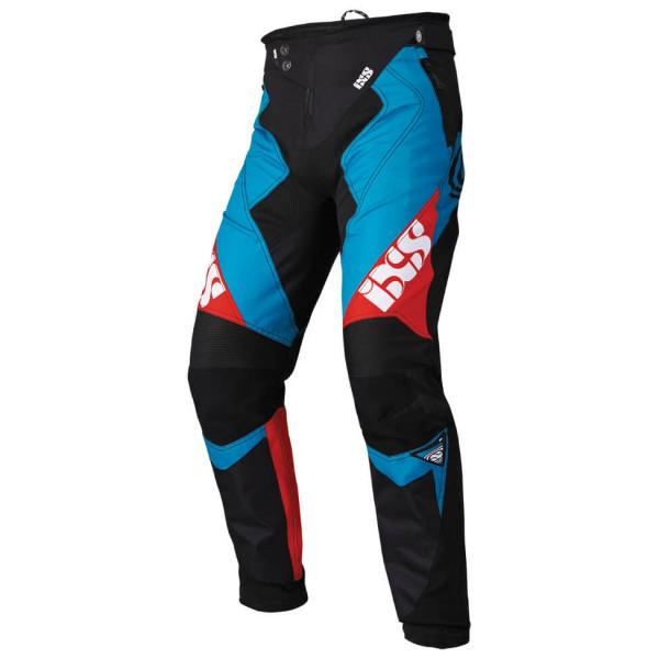 Vertic 6.2 DH Pants Hose - petrol/red/black