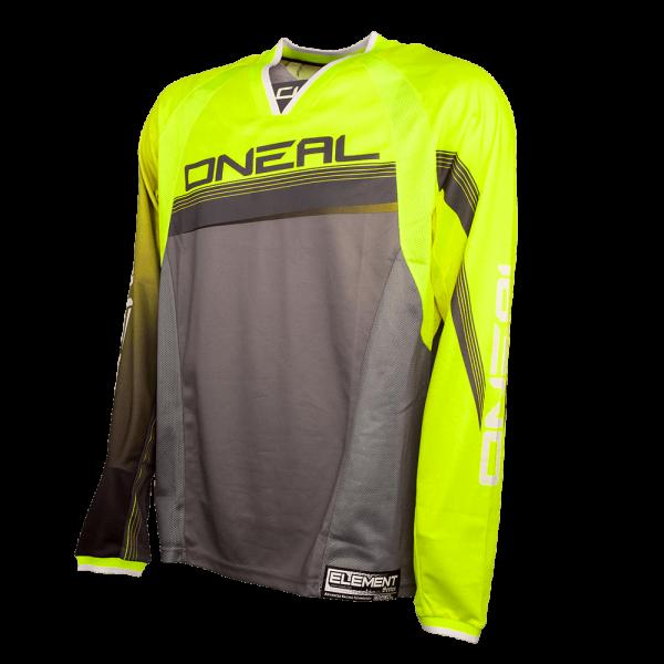Element FR Long Sleeve Jersey Neon Yellow