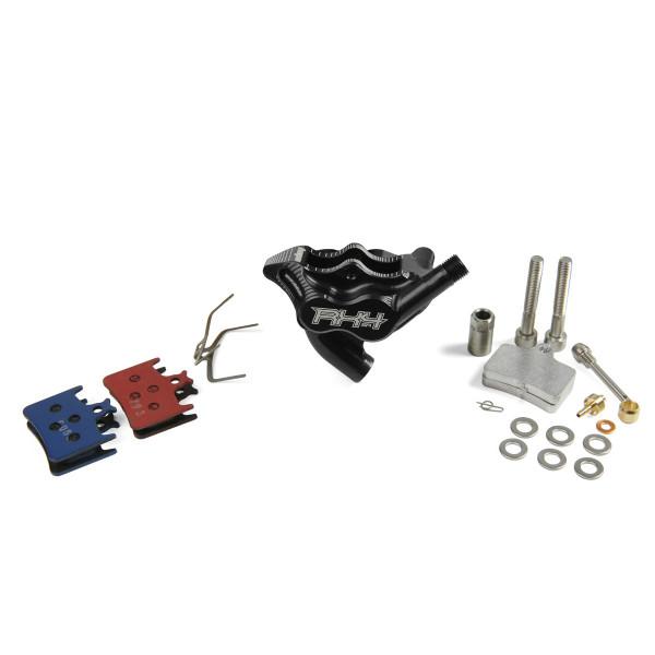 RX4 Bremssattel Flatmount Complete hinten - Sram - Schwarz