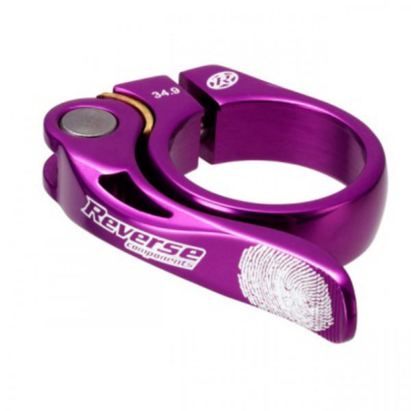 Long Life Sattelklemme 34,9mm - purple