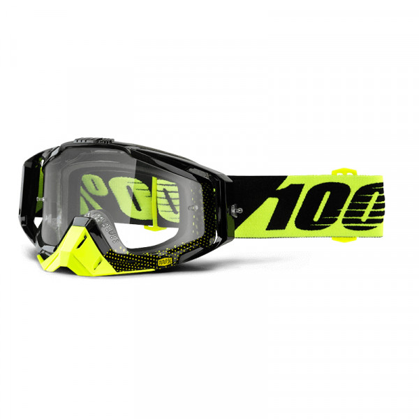 Racecraft Goggle Anti Fog Clear Lens - Cox