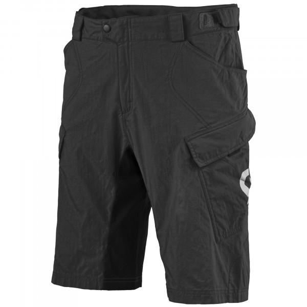 Trail Flow Shorts mit Polster - black/white