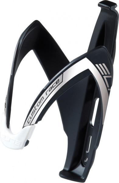 Custom Race Flaschenhalter - schwarz/weiß matt