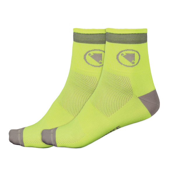 Luminite Socken Doppelpack - Neongelb