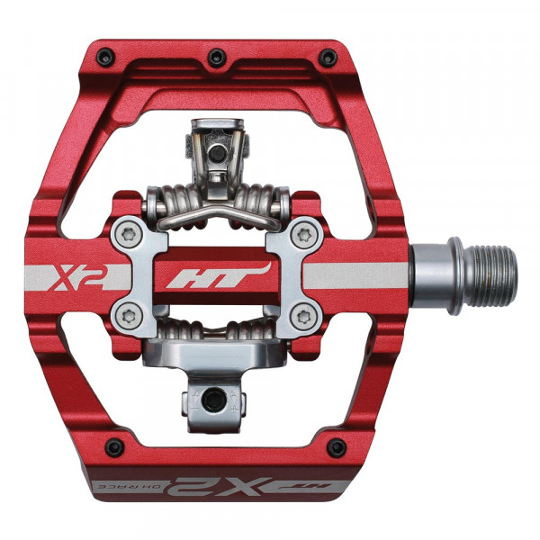 DH-Race X2 Pedal - rot