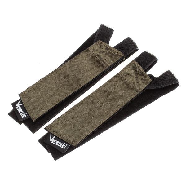 Freestyle Pedal Straps - dark green