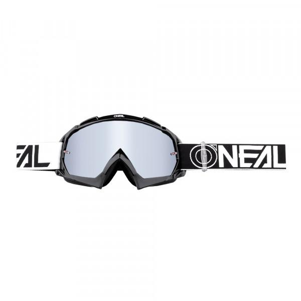 B10 Twoface Goggle - black - Lens mirror silver