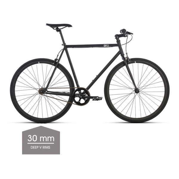 Nebula 1 Singlespeed/Fixed Bike - 30 mm Deep V Felgen