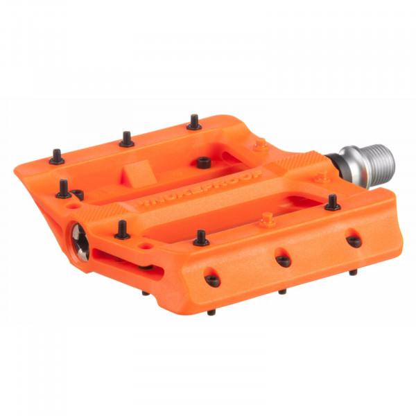 Neutron Evo Plattformpedale - orange