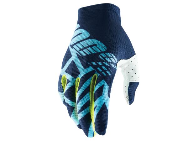 Celium 2 Handschuhe - Blau/Weiß/Grün