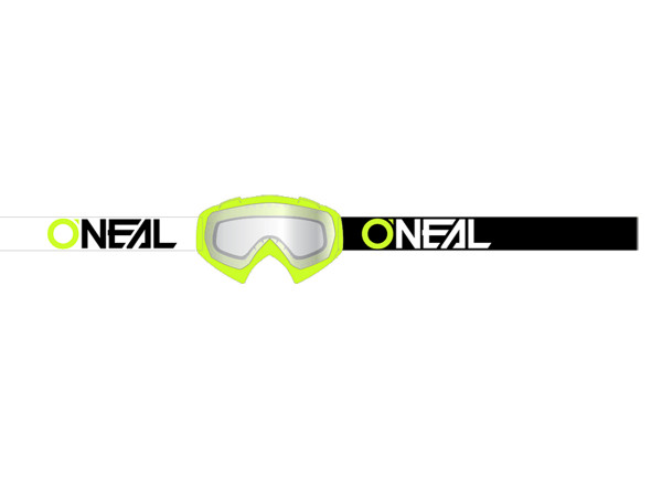 B10 Twoface Goggle - neon yellow - Lens clear