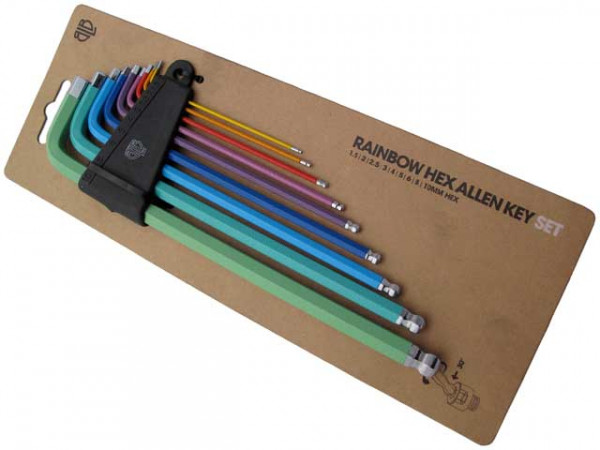 Rainbow Allen Key Set - Inbusschlüssel Set bunt