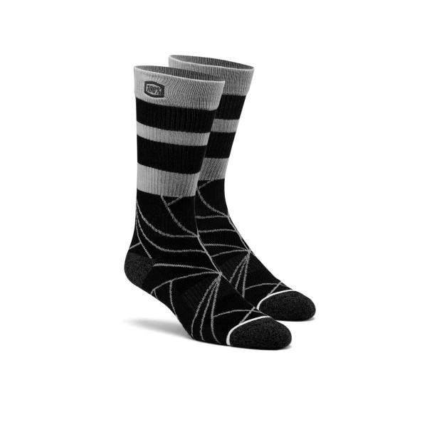 Fracture Socken - Schwarz