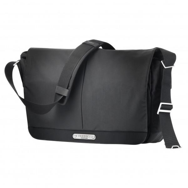 Strand Shoulder Tasche - black
