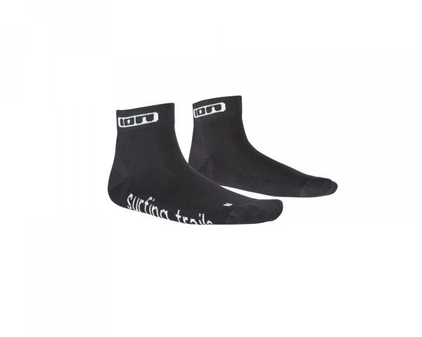 Role kurze Socken - schwarz