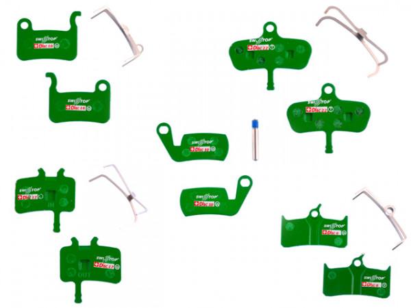 Disc Bremsbeläge für Shimano XTR, XT, LX, Deore, Saint, Hone, SLX