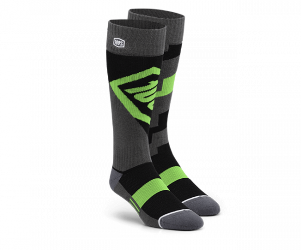 Moto Socken - Torque Lime