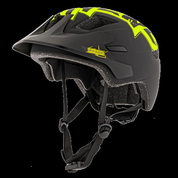 Rooky Stixx Kinder Helm - Neon Gelb