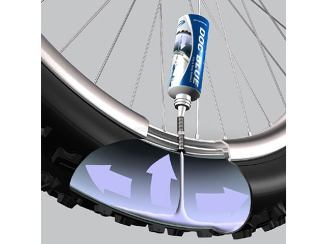 schwalbe doc blue dichtmilch 60ml 500ml online kaufen bmo bike mailorder. Black Bedroom Furniture Sets. Home Design Ideas