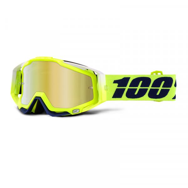 Racecraft Goggle Anti Fog Mirror Lens - Tanaka
