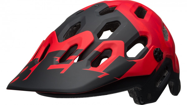 Bell SUPER 3 MIPS Helm - Red/Black