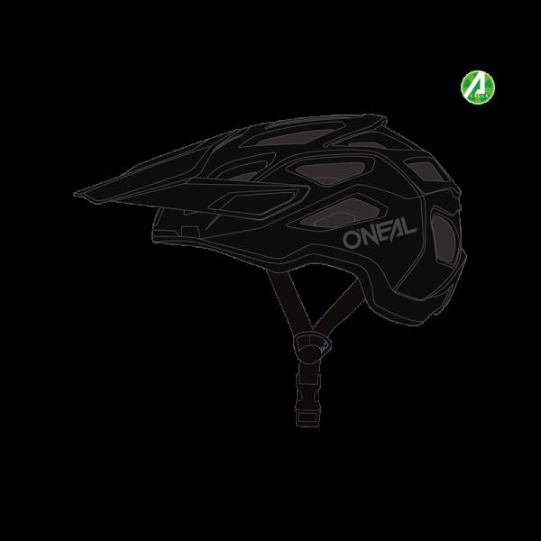 Pike 2.0 IPX Solid Helm - Schwarz/Grau