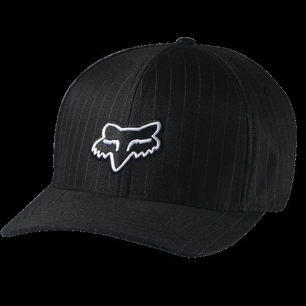 Legacy Flexfit Hat Black Pinstripe